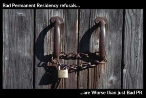 Bad Permanent Residency Refusals are Worse than just Bad PR
