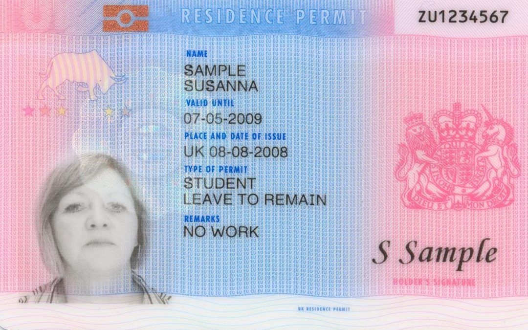 Biometric residence permits (BRPs)