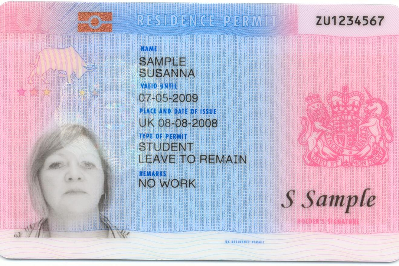Biometric Residence Permits Brps Uk Immigration Solicitors