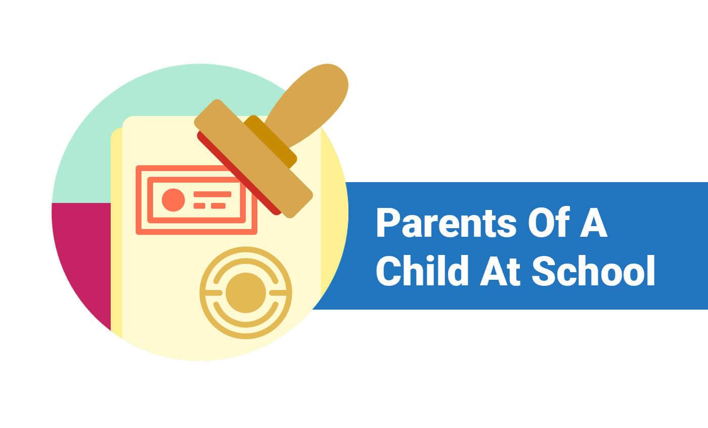 Parents Of A Child At School